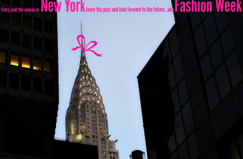 NYC-chrysler building- #MBFW