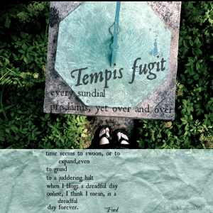 sundial quote-poem mark ford