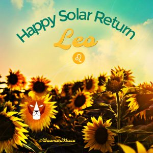 sunflowers_leo_birthday_solar_return