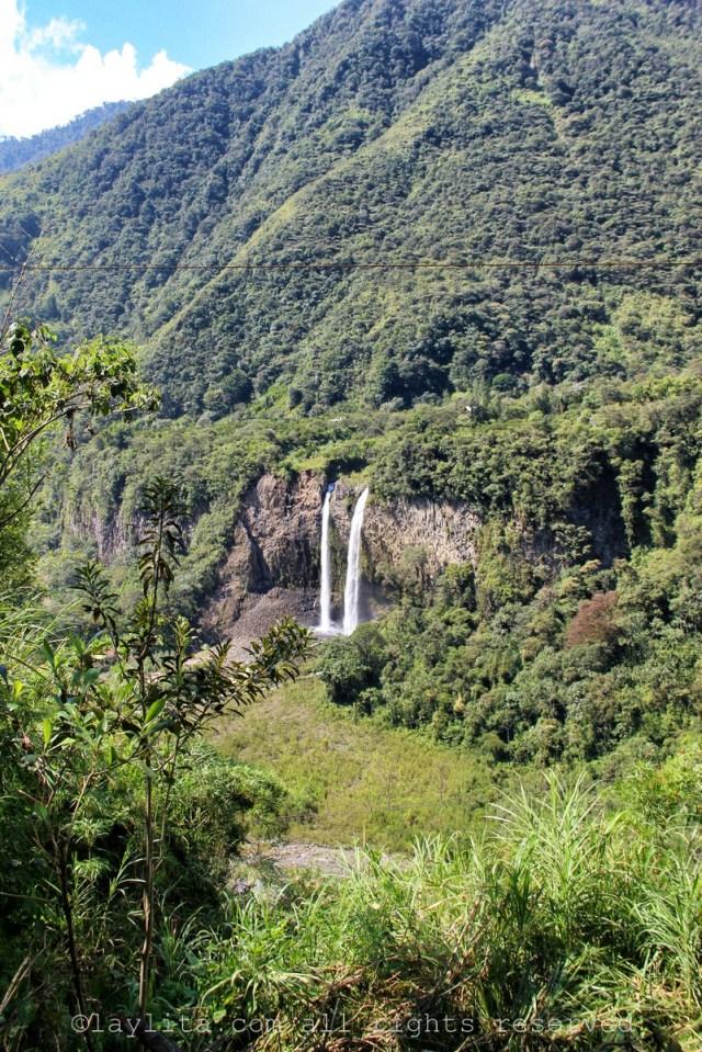 Manto de la Novia Baños Ecuador
