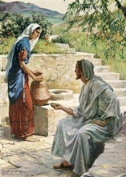 Cross culture sharing gospel Jesus  the Samaritan woman
