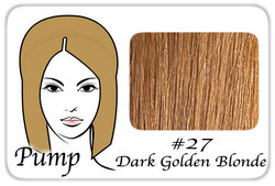 #27 Dark Golden Blonde Pro Pump – Tease With Ease