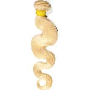 Russian Blonde Body Wave Extensions 18″