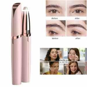 Electric Eyebrow Trimmer Makeup Painless Eye Brow Epilator
