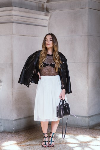 MESH ON MESH OUTFIT