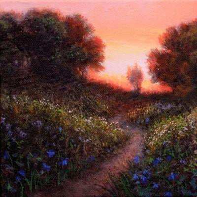 wildflower-quadriptych