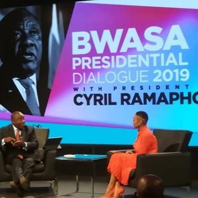 Ramaphosa at BASWA2
