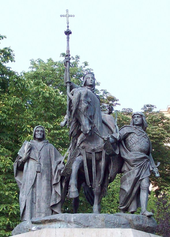 Monumento a Isabel la Católica (Madrid) 04b