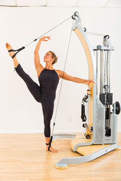 Cross Training with Pulleys   Gyrotonic Expansion System