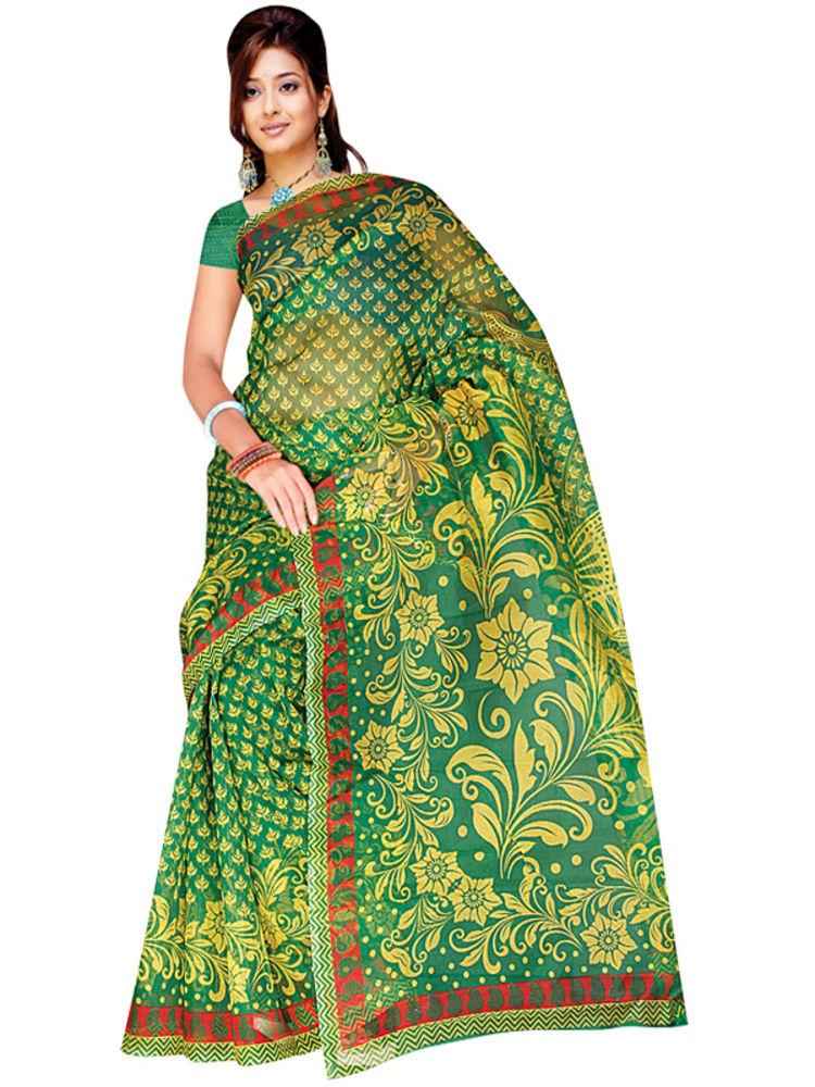 Buy Vaibhavi Set of 7 Kota Doria Sarees (7K1) Online at ...
