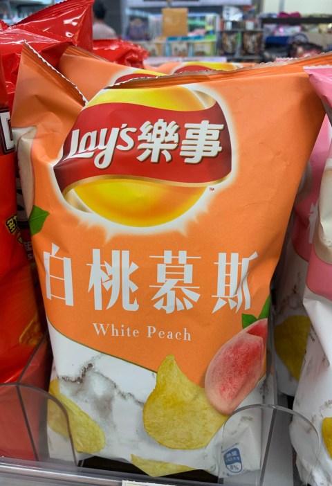 White peach flavor