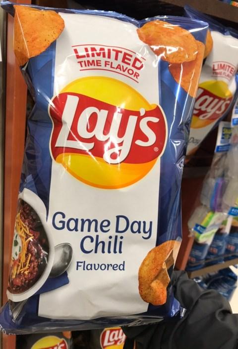Game day chili flavor