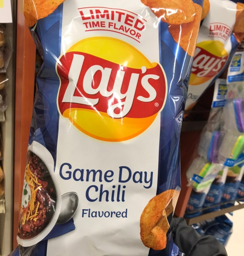 Game day chili flavor