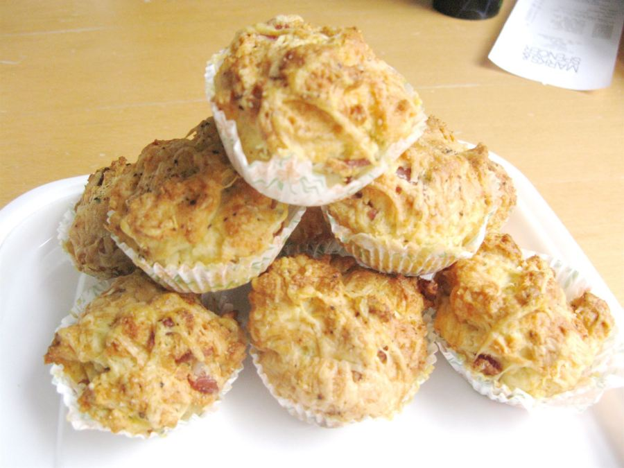 Marvellously Moreish Cheesey Bacon Muffins, Lay The Table