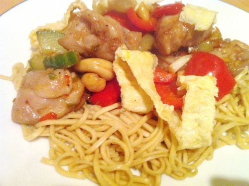 Healthy New Year Nasi Goreng Noodles, Lay The Table