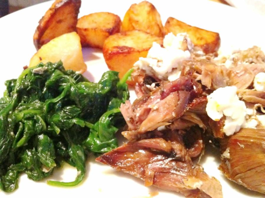 Classic Lamb Kleftiko  Greek-themed Sunday roast with lemon, oregano, Lay The Table