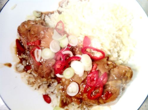 Gok Wans Chinese Chicken Thighs with Soy Glaze, Lay The Table
