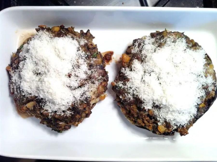Baked Stuffed Portobello Mushrooms, Lay The Table