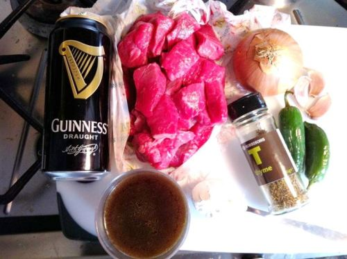 Classics with a Twist: Beef, Mushroom & Guinness Stew, Lay The Table