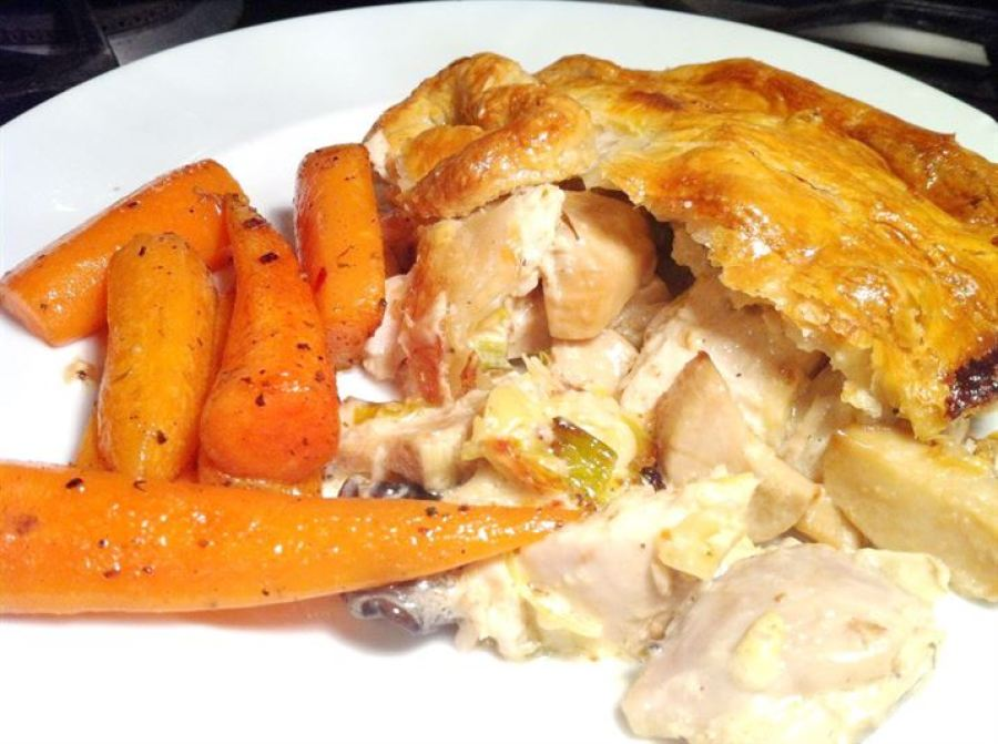 Classics with a Twist: Chicken & Mushroom Pie, Lay The Table