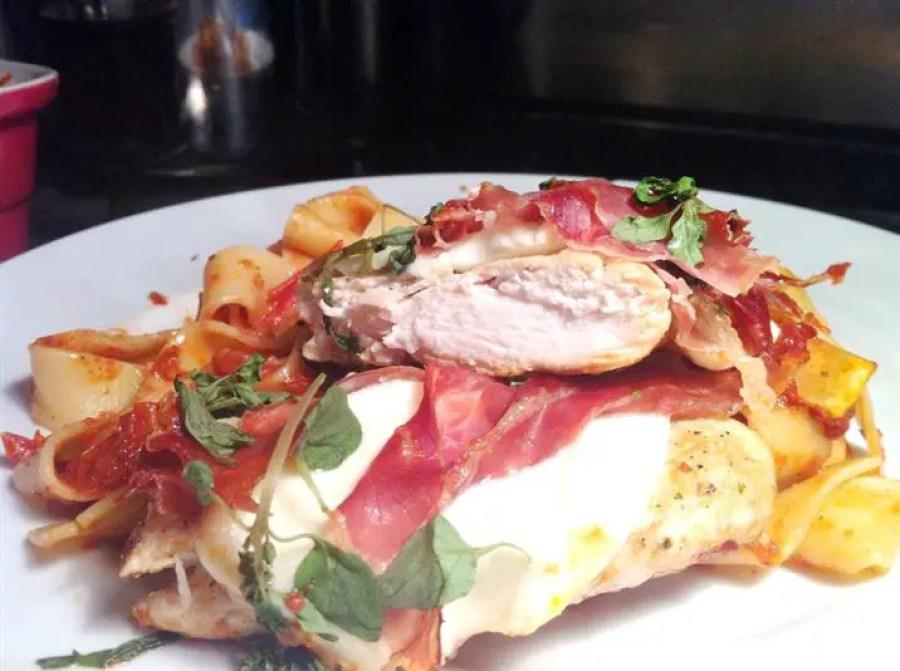 Italian Chicken Scallopini with San Daniele Ham, Lay The Table