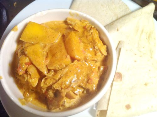 Chicken and Mango Madras, Lay The Table