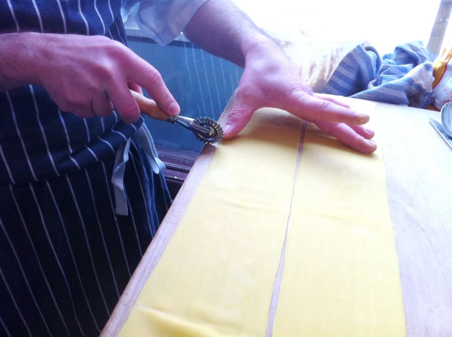 Pasta Masterclass #1 How To Make Tortelloni, Lay The Table
