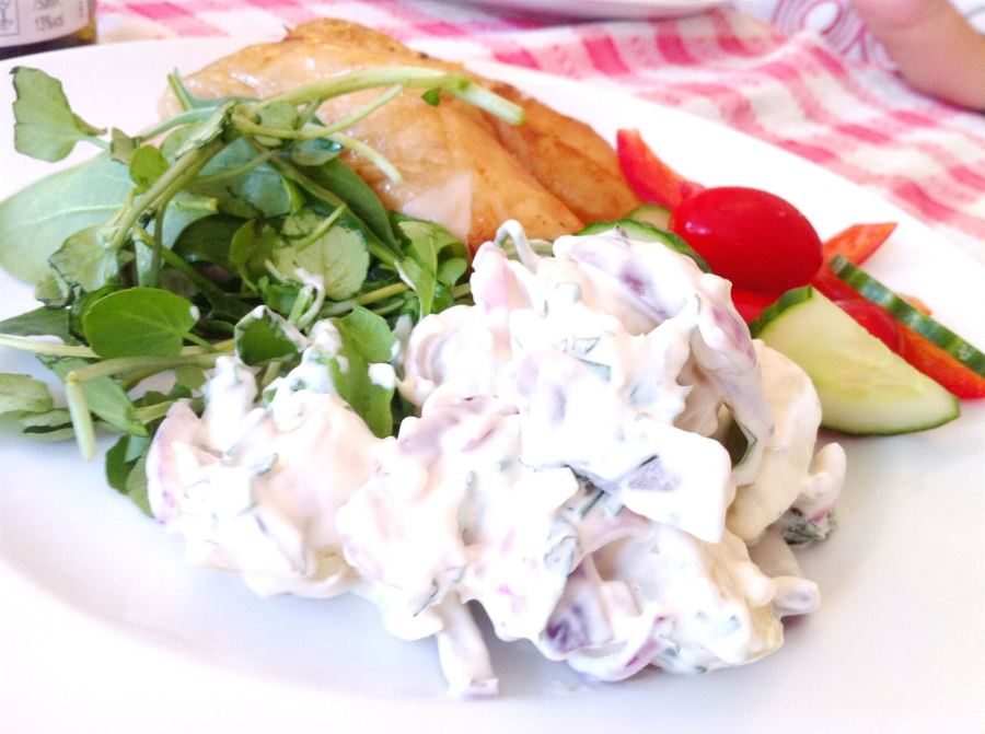 Best Potato Salad Recipe Ever, Lay The Table