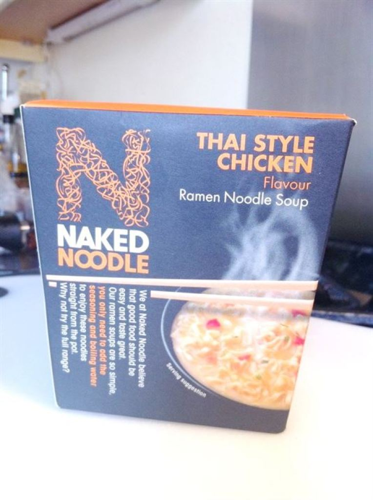 Review: Naked Noodle  Thai Style Chicken Flavour, Lay The Table