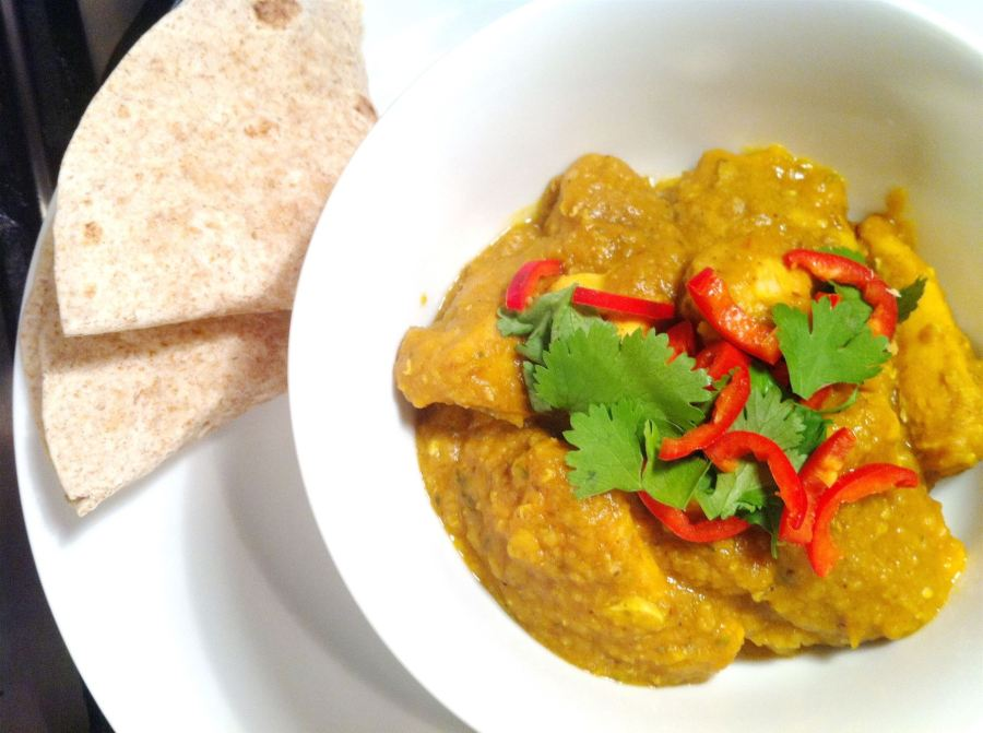 Indian Restaurant-Style Chicken Dhansak with Pineapple, Lay The Table