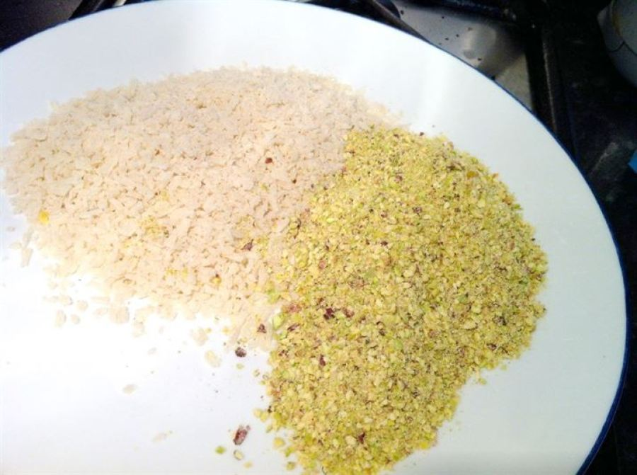 Pistachio Crusted Chicken, Lay The Table