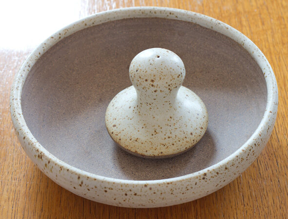 Nigel Slater's Simple Suppers style pestle & mortar, Lay The Table