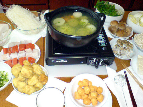 How To Make Chinese Hot Pot, Lay The Table