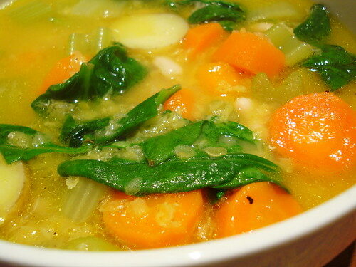 Quick & Simple: Winter Vegetable Soup, Lay The Table