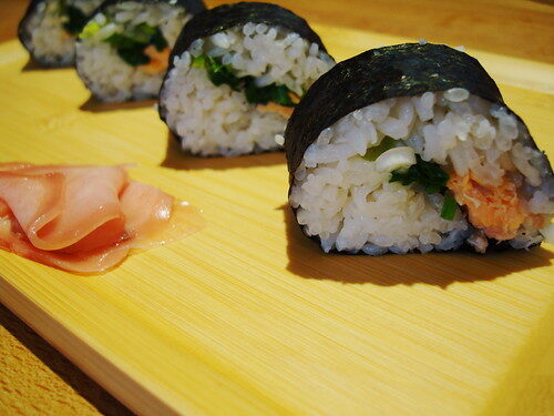 How To Make Sushi Rolls, Lay The Table