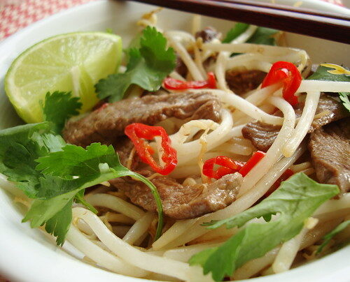 Quick & Simple: Beef Tamarind Stir-fry, Lay The Table