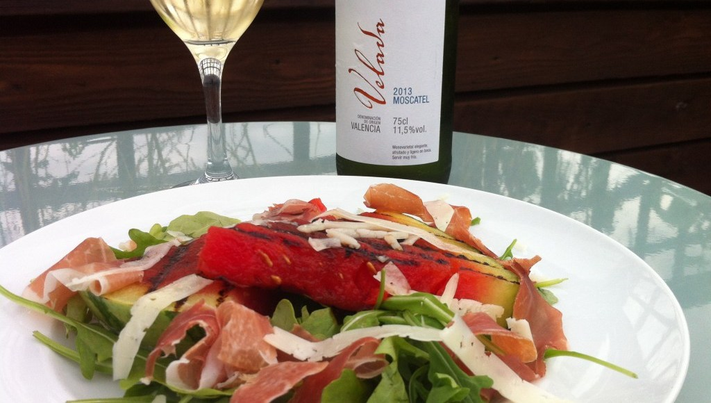 Chargrilled Watermelon Salad with Sol & Mar Flavours of the Med, Lay The Table