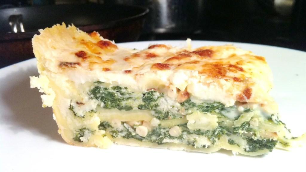 delia smith spinach and ricotta lasagne