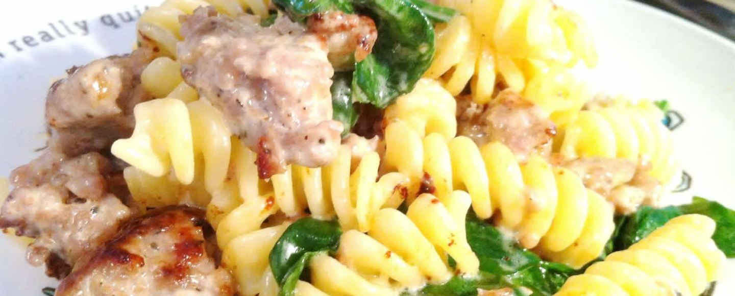Cooking for Kids: Sausage and Baby Spinach Fusili, Lay The Table