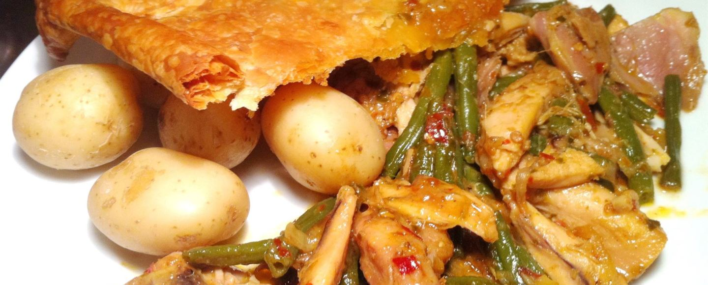 Red Thai Curry Chicken Pie, Lay The Table