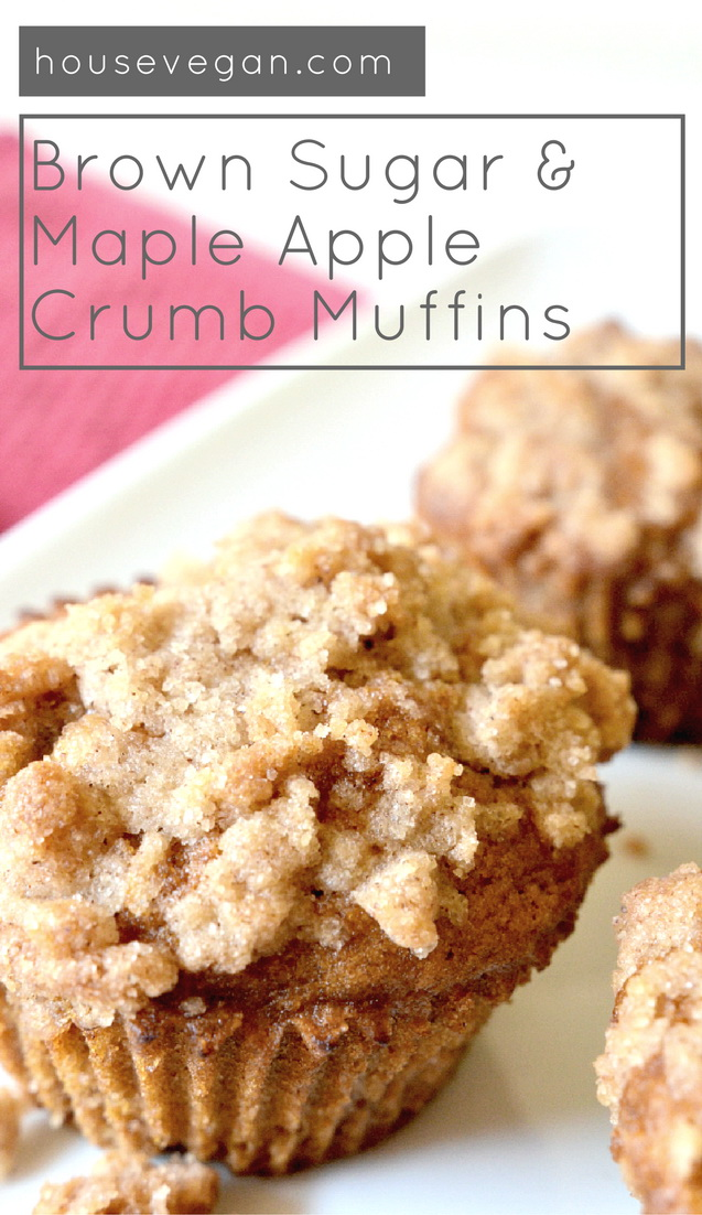 Brown Sugar & Maple Apple Crumb Muffins, Lay The Table