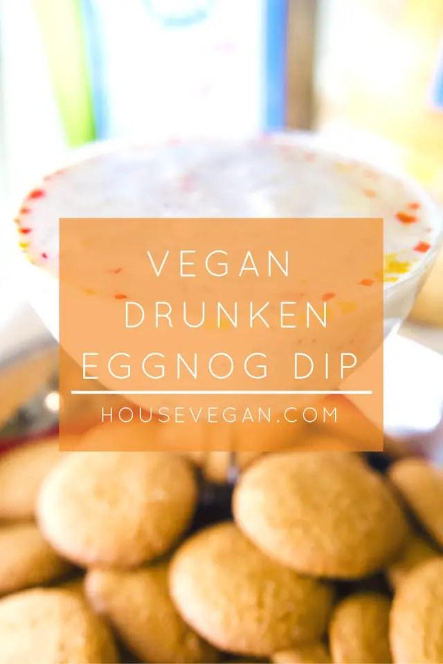 Vegan Drunken Eggnog Dip, Lay The Table