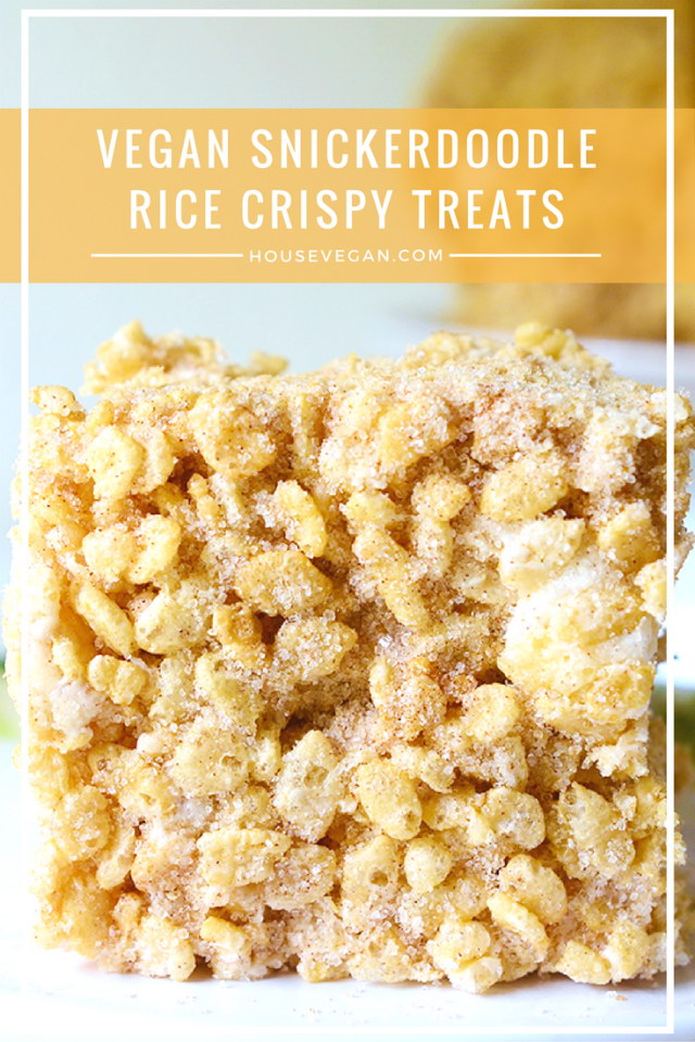 Snickerdoodle Rice Crispy Treats, Lay The Table