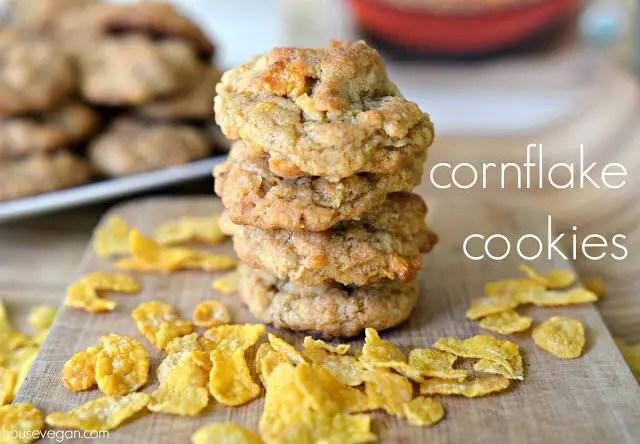 How to Make Vegan Cornflake Cookies, Lay The Table