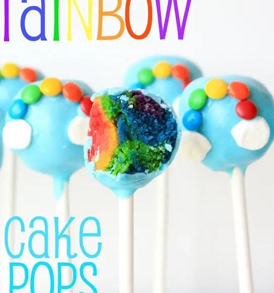 Rainbow Cake Pops, Lay The Table