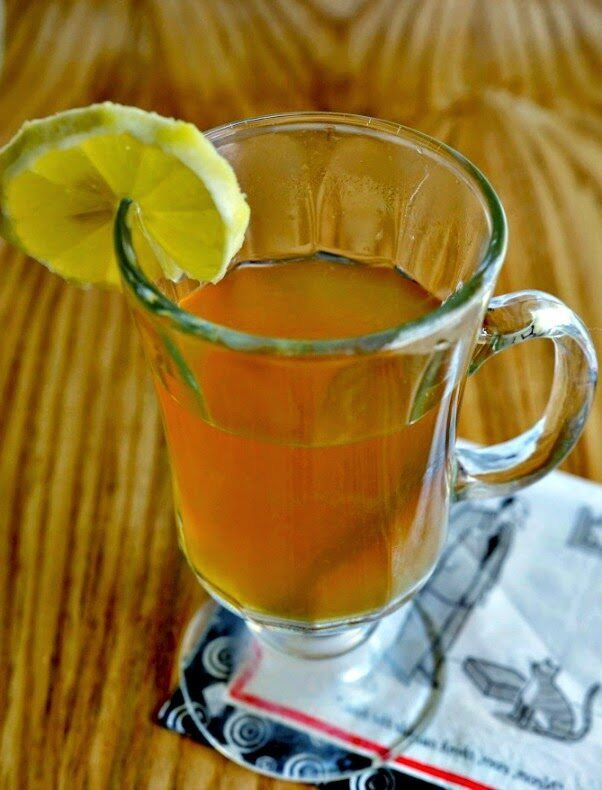 Coconut and Brandy Hot Toddy, Lay The Table