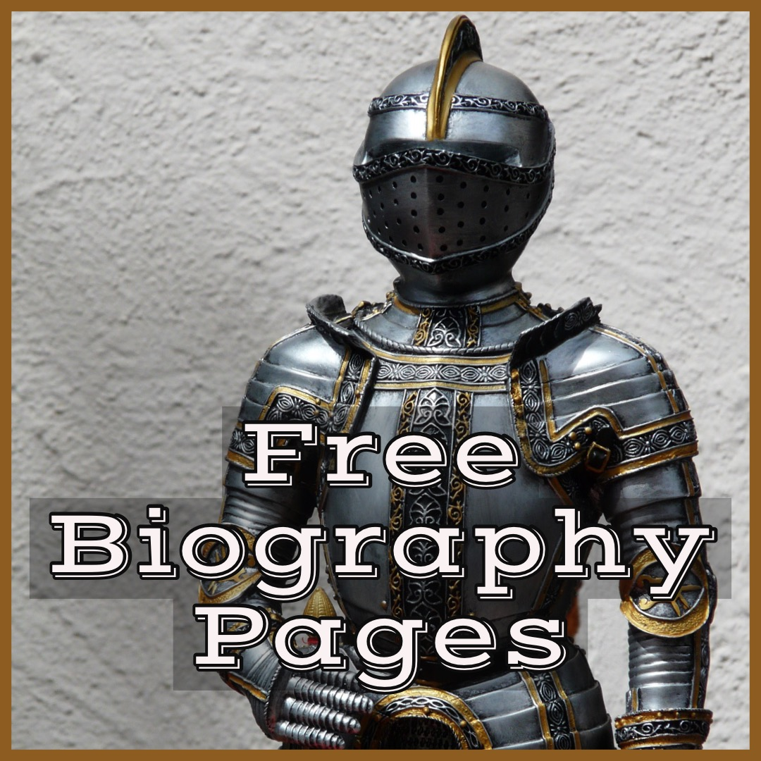 10 Biography Pages For History Class
