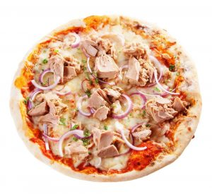 بيتزا اتون pizza de atún