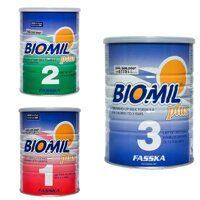Leche biomil 1, 2, 3