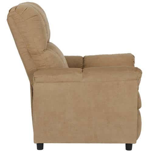 Dorel Living Slim Recliner Review  The 1 Basic Chair